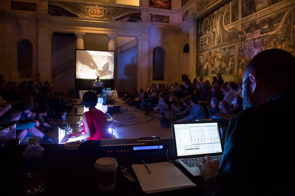 Live performance at the Detroit Institute of Arts